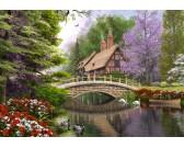 Puzzle Ház a hídnál