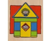 Puzzle Házikó - FA PUZZLE