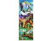 Puzzle Természet világ csodái - PANORAMATIKUS PUZZLE