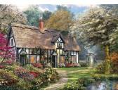 Puzzle Viktoriánus kert