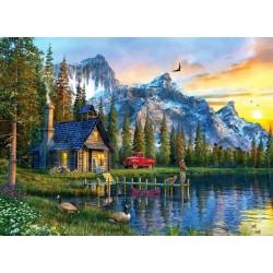 Puzzle Nyaraló a hegyekben