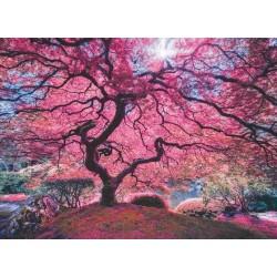 Puzzle Rózsaszín fa