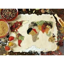 Puzzle Fűszerek a világ minden tájáról