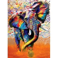 Puzzle Afrika színei