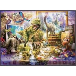 Puzzle Dinoszaurusz világ