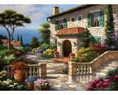 Puzzle Mediterrán villa