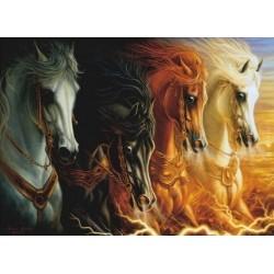 Puzzle Az apokalipszis négy lova