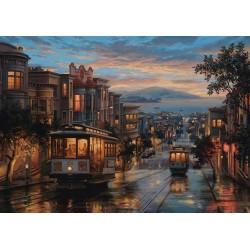 Puzzle Egy este San Franciscóban