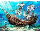 Puzzle Hajótörés az óceán fenekén