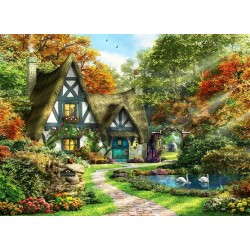 Puzzle Gyönyörűséges kunyhó