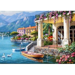 Puzzle Villa a tó partján