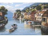 Puzzle Nyugodt kikötő