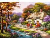Puzzle Tavasz a faluban