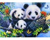 Puzzle Panda család - GYEREK PUZZLE