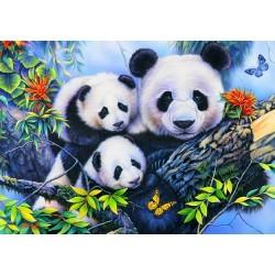 Puzzle Panda-család - GYEREK PUZZLE