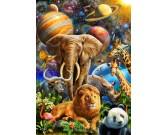Puzzle Állatok a világegytemben