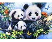 Puzzle Panda család