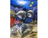 Puzzle Három delfin felmérésen