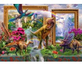 Puzzle Pillantás a dinoszauruszok világába
