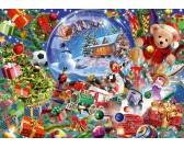 Puzzle Karácsonyi dísz