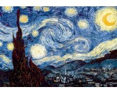 Puzzle Csillagos éjszaka