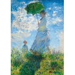 Puzzle Hölgy napernyővel
