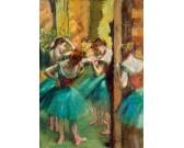 Puzzle Rózsaszín-zöld táncosok