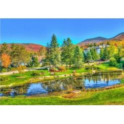 Puzzle Vermont, USA