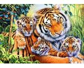 Puzzle Tigris család