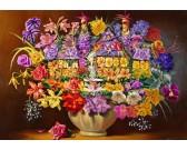 Puzzle Csokor vázában