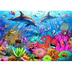 Puzzle Delfinek, Korallzátony