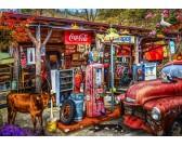 Puzzle Régi benzinkút