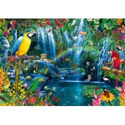 Puzzle Trópusi papagájok
