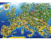 Puzzle Európai műemlékek