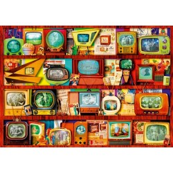 Puzzle Régi tévék