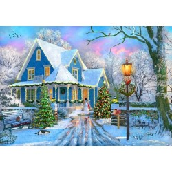 Puzzle Karácsonykor