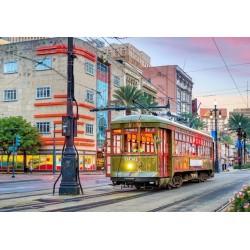 Puzzle Villamos New Orleansban