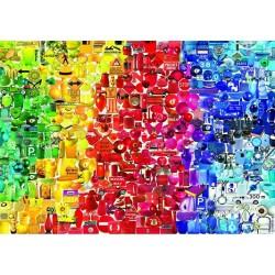 Puzzle Színes dolgok