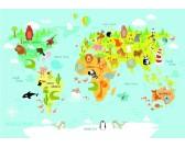 Puzzle Világtérkép gyerekeknek - GYEREK PUZZLE