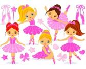 Puzzle Kis balerinák - GYEREK PUZZLE