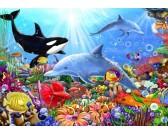 Puzzle Víz alatti élet