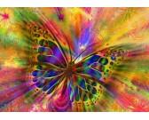 Puzzle Színes pillangó
