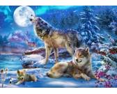 Puzzle Farkasok télen