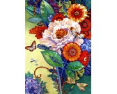Puzzle Színes virágcsokor