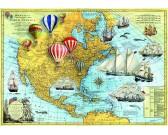 Puzzle Észak-Amerika