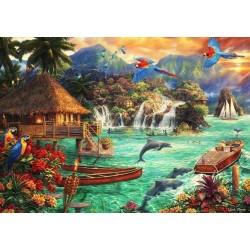Puzzle Élet a szigeten