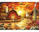 Puzzle Naplemente a farmon