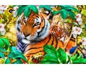 Puzzle Tigrisek a dzsungelben - GYEREK PUZZLE