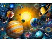 Puzzle Naprendszer - GYEREK PUZZLE