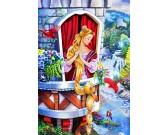 Puzzle Aranyhajú lány - GYEREK PUZZLE